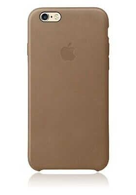 Original Apple Leder Cover braun MGQR2ZM/A iPhone 6 Plus/6s Plus | Leather Brown