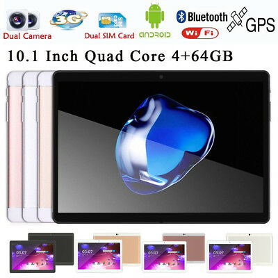 10.1 Zoll Tablet PC Mic WIFI Android 6.0 Octa Core 4+64G HD 4G Dual Kamera 2SIM