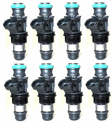 Set of 8 Fuel Injectors for 8.1L Marine Engines (2001-2012) - 881693002 - NEW!