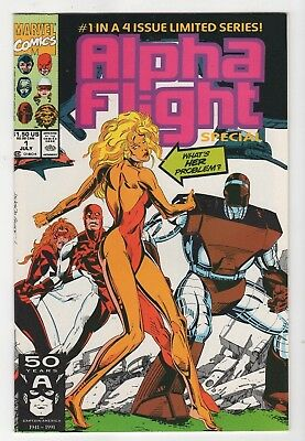 Marvel Comics Alpha Flight #1 of 4 Copper Age