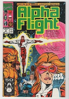 Marvel Comics Alpha Flight #4 of 4 Copper Age