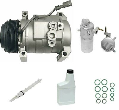 RYC Remanufactured Complete AC Compressor Kit FG316 Without Rear