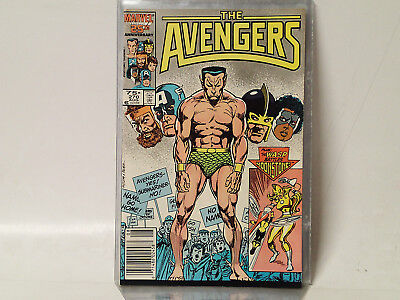 AVENGERS #270 Marvel Comics 1986 VF SubMariner! FL