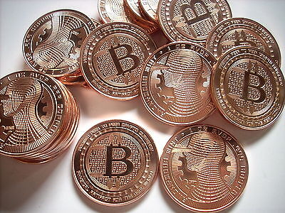 10-1 Oz Copper Coins Bitcoin *the Guardian* Anonymous Mint Copper Coin 1-20-100
