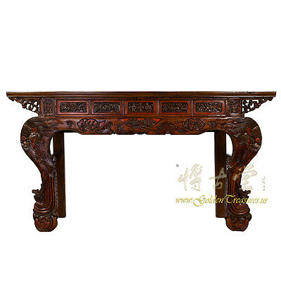 Chinese Antique Carved Altar Table/Entry Console 17LP40