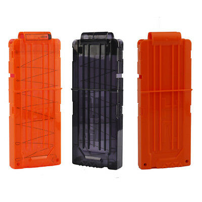 12 Reload Bullets Dart Clip Magazine MAG Replacement for Nerf Gun Toy Kids Gift