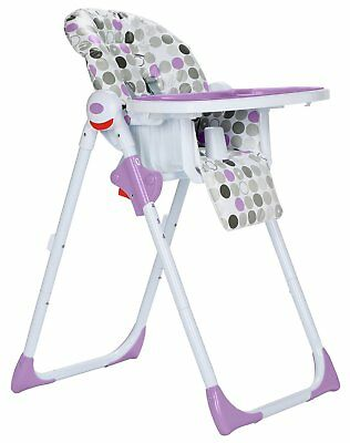 Cuggl Deluxe Highchair - Plum