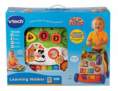 NEW VTech Kids' Sit-to-Stand Learning Walker Toy