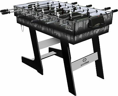 NEW Tesco Hy-Pro Folding 4ft 4-in-1 Hockey Football Tennis & Pool Games Tables