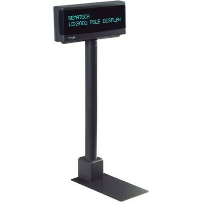 Logic Controls Ldx9000Up-Gy  Gray Pole Display 9.5Mm Std Usb