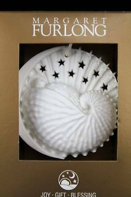 Margaret Furlong Baby's First Christmas UNDATED Roundel Bisque Ornament NIB