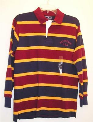 NEW POLO SPORT  RALPH LAUREN Boys Shirt L NWT LS