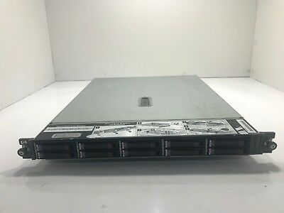 HP StorageWorks MSA50 10-Slot Storage Array w/ 10x 146GB 10K SAS