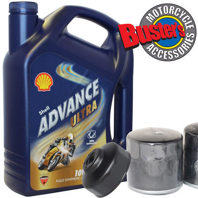 Suzuki GSF600 ALL Oil Filter 4L Shell Advance Ultra Fully Synthetic & Wrench