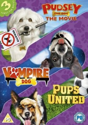 Dogs Triple (Pups United/Vampire Dog/Pudsey The Dog Movie) [DVD], 5030305519469.