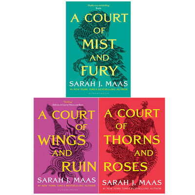 Sarah J. Maas Collection A Court of Thorns and Roses 3 Books Box Set Paperback