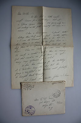 Third Army - Officers Mail - Beleg + Brief - A.P.O. 754 - Koblenz auf Kings City