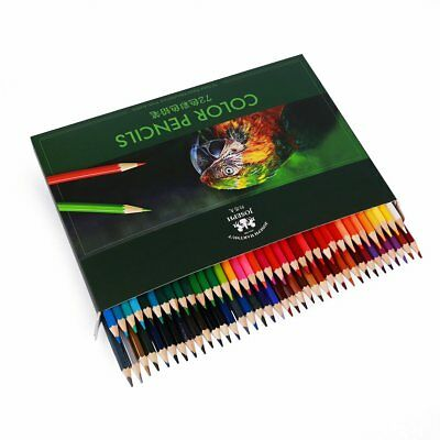 72 Colors Water color pencils Artist Art Non-toxic Soluble Drawing Painting