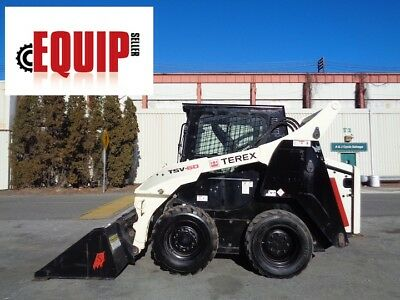 2013 Terex TSV60 Wheel Skid Steer Loader - Enclosed Cab - AC - Only 600 Hours