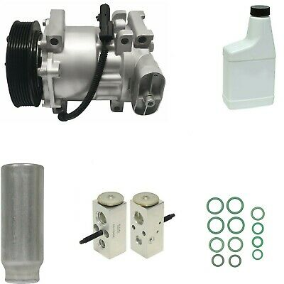 RYC Remanufactured Complete AC Compressor Kit EG969 With Rear AC