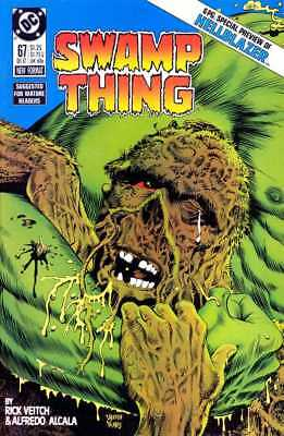 SWAMP THING #67 (HELLBLAZER PREVIEW)  HIGH GRADE NM Veitch
