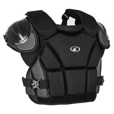 Champro Pro-Plus Umpire Chest Protector NWT Black Adult Medium CP14B 13""