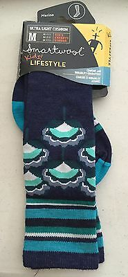 "NWT Smartwool Kids  ""Ultra Light Cushion"" Knee High Socks Medium Shoe Sz 12-2.5"