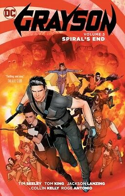 Grayson Vol 5 Spyrals End, Janin, Mikel, 9781401268251