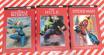 Marvel's Mightiest Heroes Graphic Novels x 3 !! Spider-Man, Hulk & Invisible Wm
