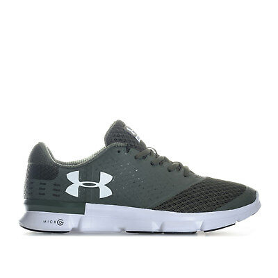 Mens Under Armour Ua Micro G Speed Swift 2 Running Shoes In Green