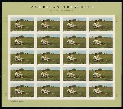 2010 -AMERICAN TREASURES - #4473 Full Mint -MNH- Sheet of 20 Postage Stamps