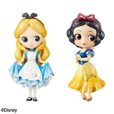 Q posket Disney Characters Special Coloring vol.1 Alice & Snow White Set Japan