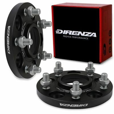 DIRENZA 5x114.3 15mm M12x1.5 67.1MM WHEEL SPACERS PAIR FOR HYUNDAI COUPE i30 i40