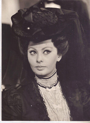 "Actress Sophia Loren As ""lady-L"" Original Vintage Photo.  1965"