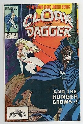 Marvel Comics Cloak and Dagger #3 Four-Issue Limited Series Bronze Age