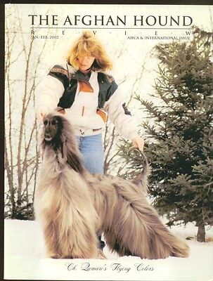The Afghan Hound Review - Jan/Feb 2002 - AHCA & International Issue