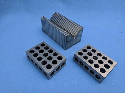 Magnetic Transfer V Block and One Pair of 1,2,3, Blocks
