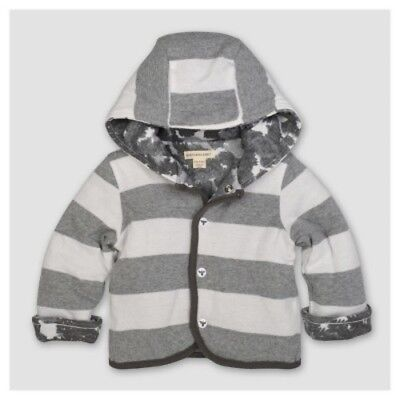 NEW Bbbaby Fashi 0-3m Heather Grey Stri