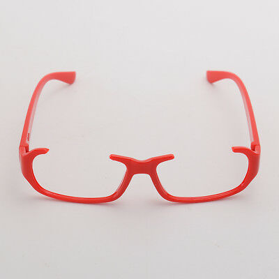Anime Tokyo Ghoul Kamishiro Rize Cosplay Unisex Black Red Glasses Without Lens