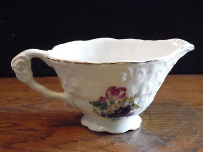 Vintage Rose Point STB233 by Steubenville Floral Creamer Pitcher
