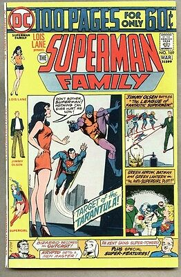 Superman Family #169-1975 fn/vf Supergirl 100 page Giant