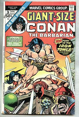 Giant-Size Conan #3-1975 fn- Giant Size Barry Windsor-Smith
