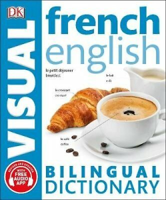 French English Bilingual Visual Dictionary by DK (Paperback, 2017)