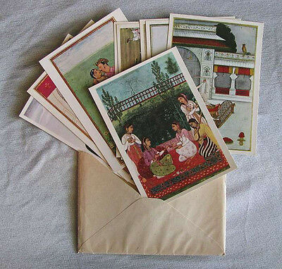 VINTAGE 1970's DDR BERLIN  STAATLICHE MUSEUM 9 POSTCARD SET (ISLAMIC ART) UNUSED