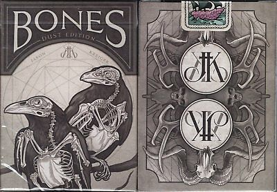 Bones Dust Playing Cards Poker Size Deck USPCC Custom Limited Edition New Sealed