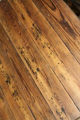 Reclaimed 6 Inch Wide Victorian Pine Flooring Cladding Board Warwick Reclamation