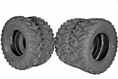 "Polaris Sportsman 700 MASSFX MS 25/""  ATV Tires 25x8-12 25x10-12 4Set  2002-2014"