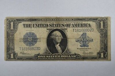 1923 $1 Large Size Note Blue Seal Silver Certificate Speelman White
