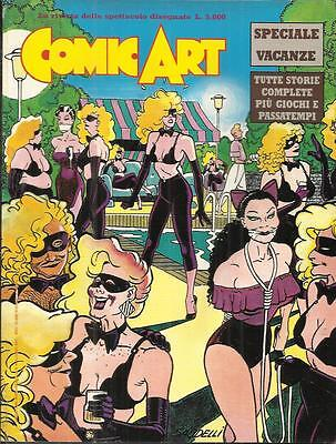 COMIC ART SPECIALE VACANZE - Supplemento al n° 46 (Comic Art, 1988)