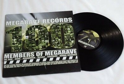 "lp 12"" vinyl va Members Of Megarave hardcore gabber MRV100A"